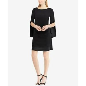 NWT American Living Black Bell Sleeve Dress Sz 14